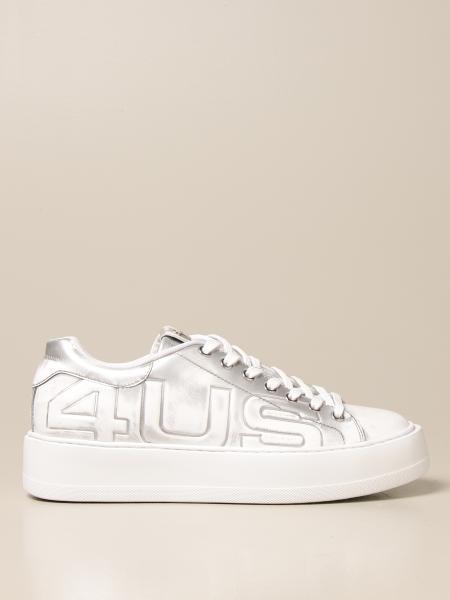 Paciotti 4Us: Sneakers Paciotti 4US in pelle laminata