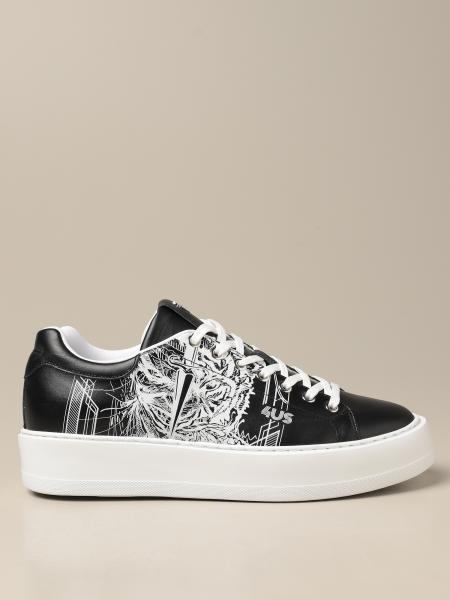 Paciotti 4Us: Sneakers Paciotti 4US in pelle con stampa