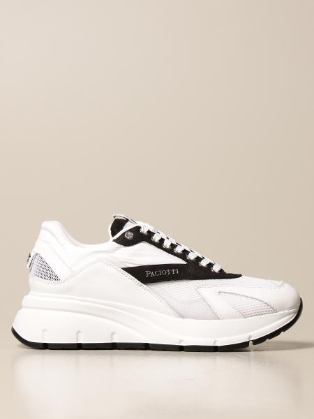 Paciotti 4Us: Sneakers Paciotti 4US in pelle rete e nylon