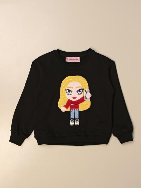 Chiara Ferragni crewneck sweatshirt with mascot