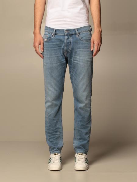 Diesel 5-pocket jeans in washed denim