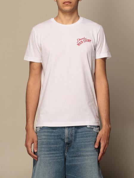 T-shirt Diesel in cotone con stampa