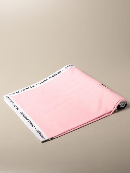 Chiara Ferragni cotton bath towel with big logo