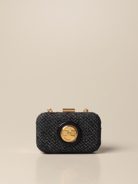 Elisabetta Franchi women: Elisabetta Franchi tweed clutch