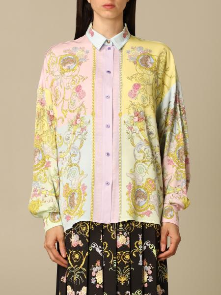 Camicia Tuileries Versace Jeans Couture a fantasia