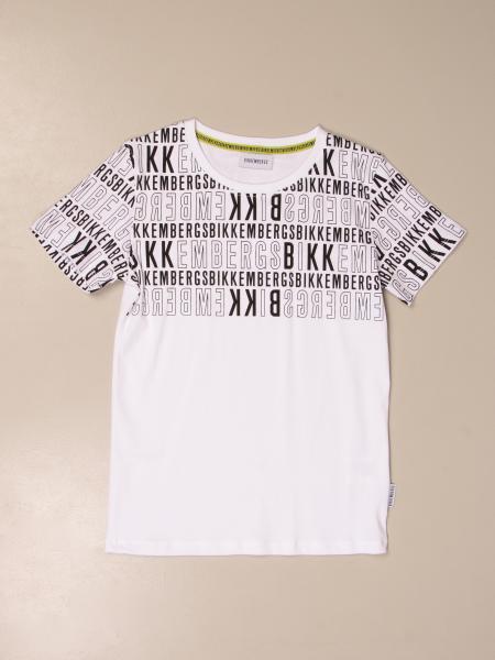 Bikkembergs: Bikkembergs cotton t-shirt with logo