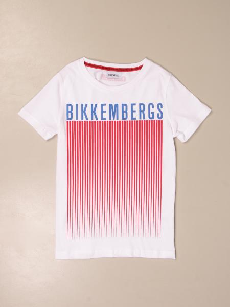 Bikkembergs: Bikkembergs cotton T-shirt with print