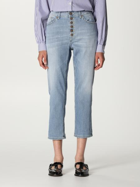 Dondup: Jeans cropped Dondup in denim washed