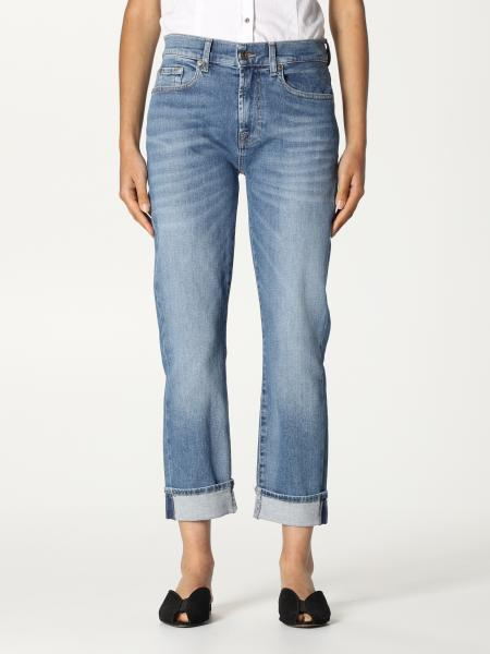 7 For All Mankind: Pantalon femme 7 For All Mankind