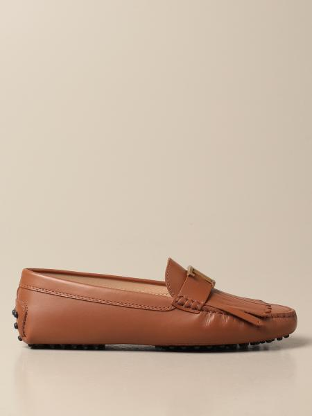 Tod's Gommini loafers in smooth leather with fringes