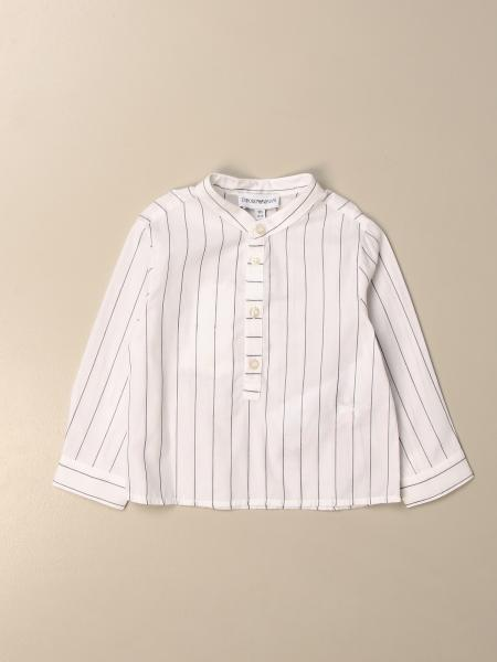 Camicia alla coreana Emporio Armani