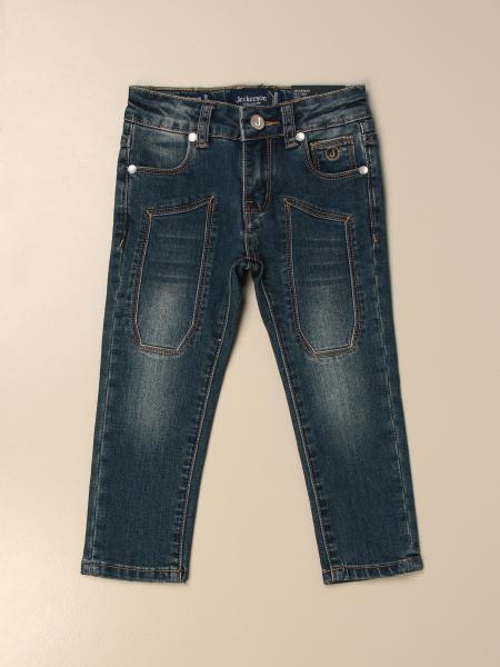 Jeans a 5 tasche Jeckerson con toppe