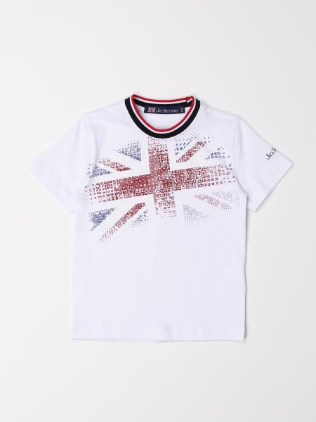 Jeckerson: Jeckerson T-shirt with flag print
