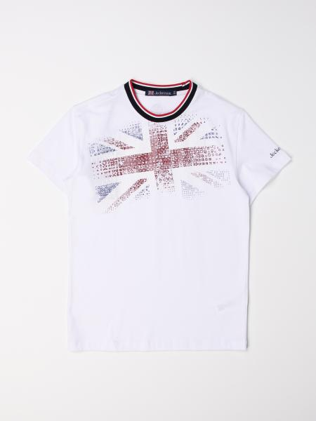 Jeckerson: Jeckerson cotton T-shirt with flag print