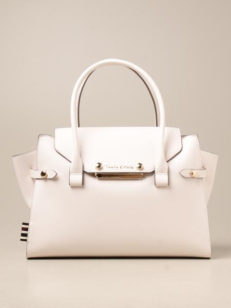 Manila Grace women: Alyssa Manila Grace handbag in synthetic saffiano leather