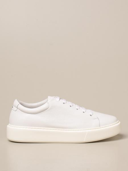 Low Brand: Low Brand sneakers in micro-grained leather