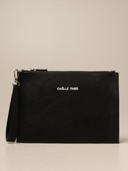 Pochette Gaëlle Paris in pelle sintetica con logo
