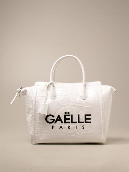 Borsa a spalla Gaëlle Paris in pelle sintetica con stampa cocco