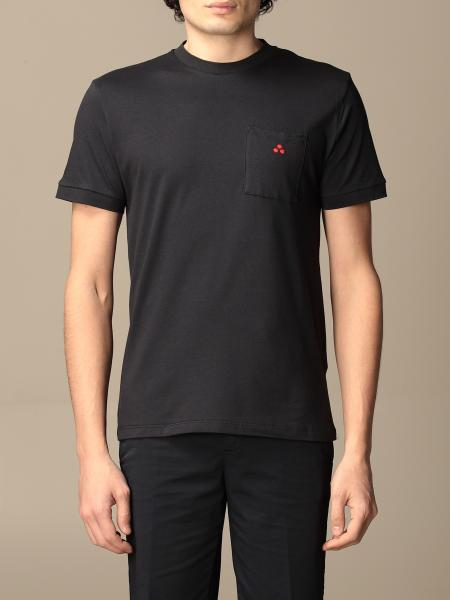 T-shirt Peuterey in cotone con taschino e logo