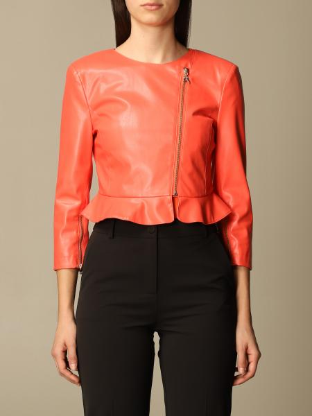 Patrizia Pepe women: Patrizia Pepe jacket in synthetic leather
