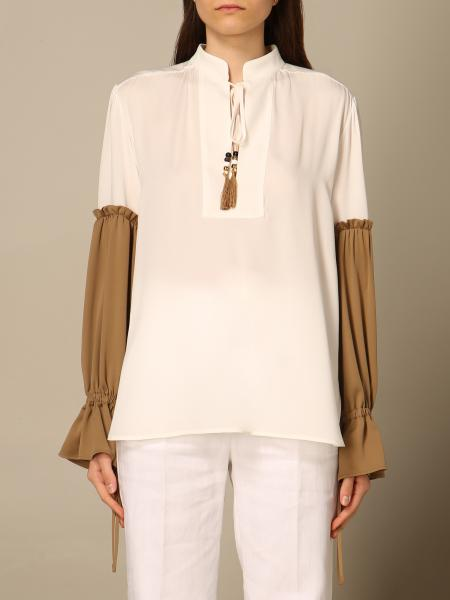 Max Mara: Рубашка Женское Max Mara