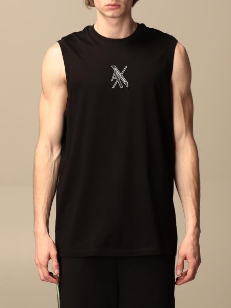 Armani Exchange: Armani Exchange tank top with AX logo