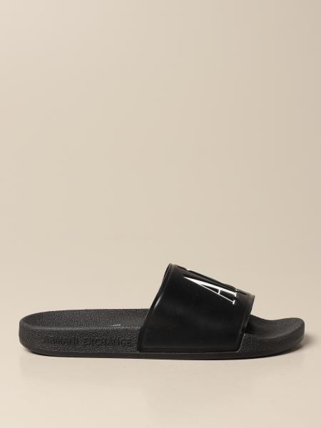 Flache sandalen damen Armani Exchange