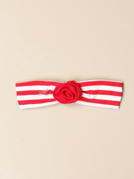 Monnalisa striped band with rose