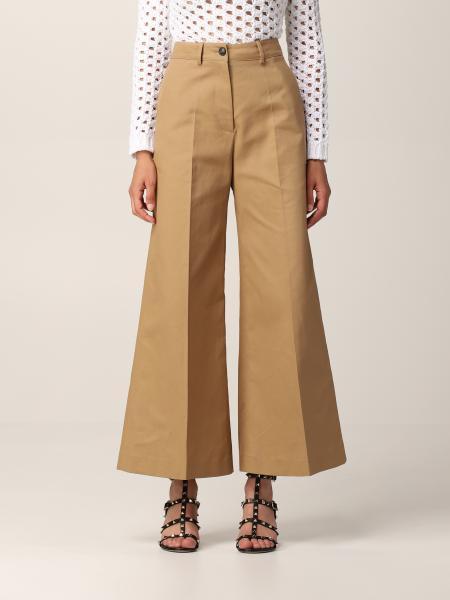 Valentino women: Valentino wide high-waisted pants