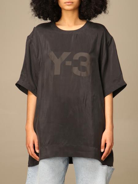 Y-3: Футболка Женское Y-3