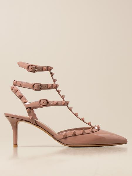 Valentino Garavani women: Valentino Garavani Rockstud pumps in patent leather