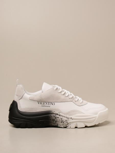 Valentino Garavani Gumboy sneakers in leather and suede