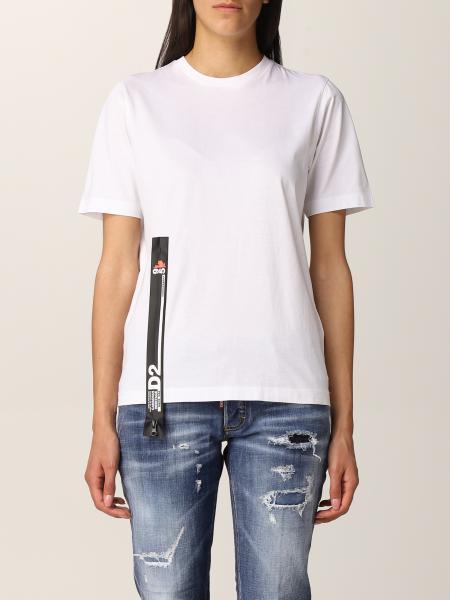 T-shirt damen Dsquared2