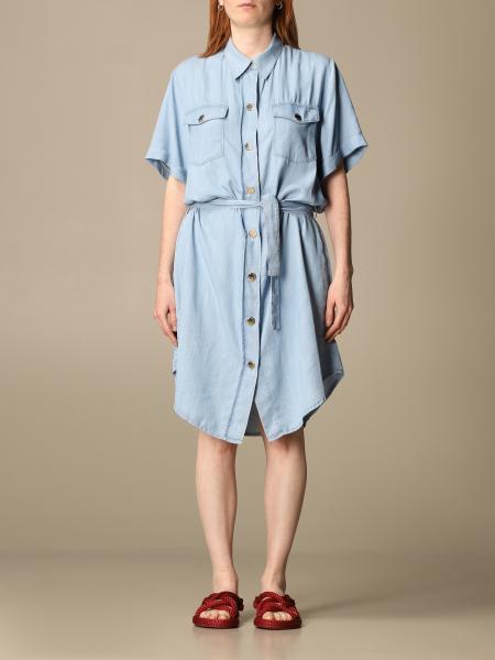 Pinko women: Pinko shirt dress with belt