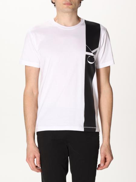 T-shirt Calvin Klein Jeans con banda e logo