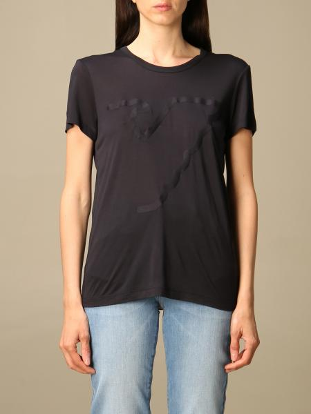 Emporio Armani women: Emporio Armani T-shirt with logo