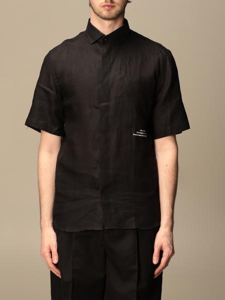 Pmds: Camicia Pmds con taschino a toppa