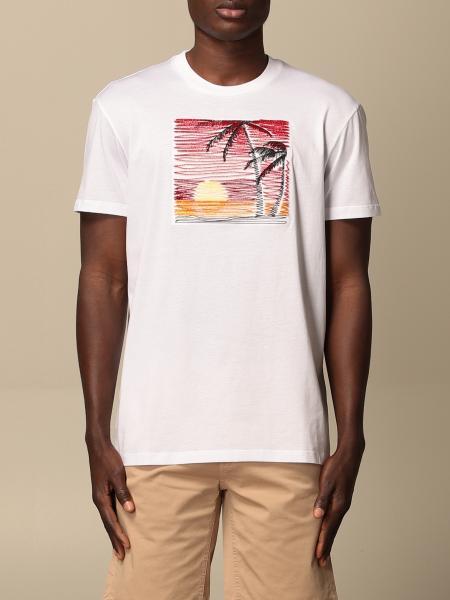 Pmds: T-shirt Pmds con stampa