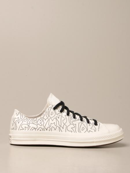 Converse Limited Edition: Sneakers low top Converse in canvas stampato