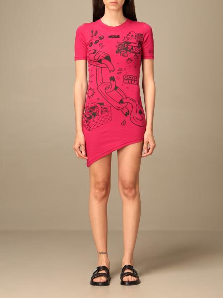Gcds: Gcds mini dress with prints