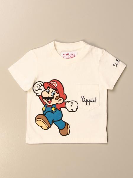 T-shirt Mc2 Saint Barth con stampa Super Mario