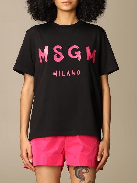 T-shirt damen Msgm