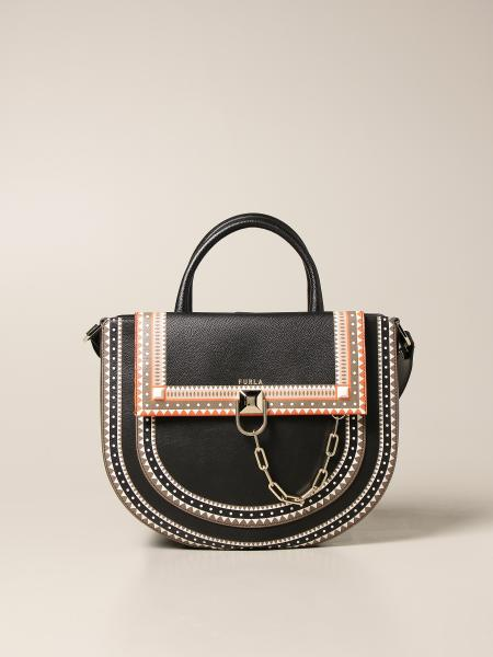 Furla: Miss Mimì Furla bag in grained leather