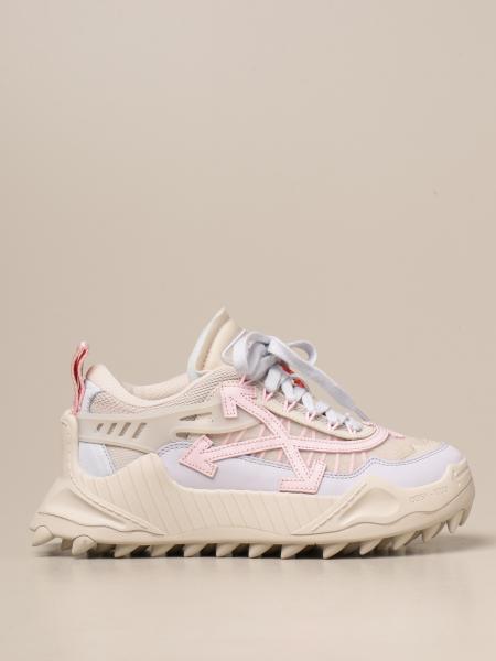 Sneakers Odsy Off White in pelle e rete
