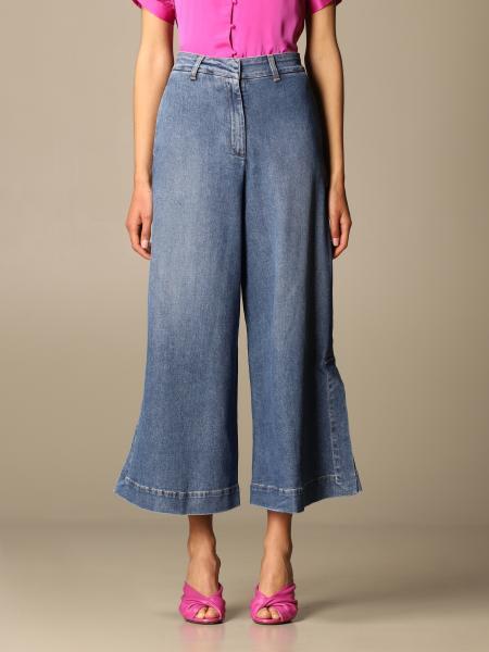L'autre Chose: Jeans L'autre Chose in denim di cotone
