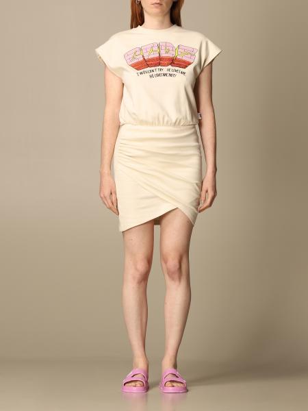 Gcds: Gcds cotton dress with big logo