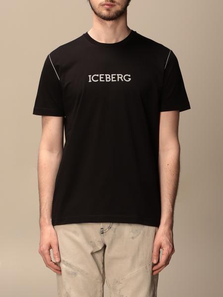 T-shirt Iceberg con logo