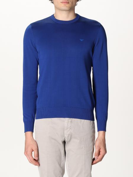 Emporio Armani: Emporio Armani crewneck sweater in cotton