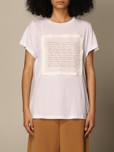 Twin Set Actitude: Twin Set Actitude t-shirt in cotton and modal