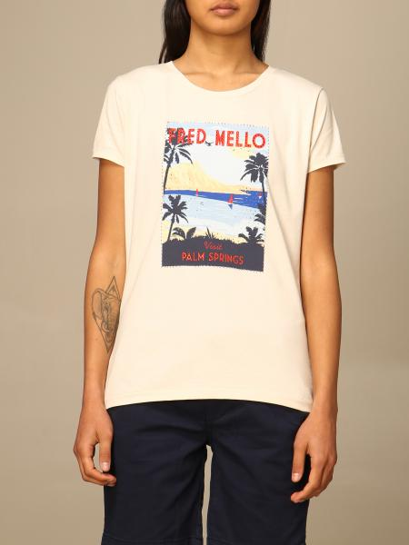 Fred Mello 女士: T恤 女士 Fred Mello